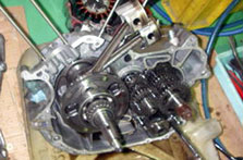 中華製エンジン、デフギヤオーバーホール