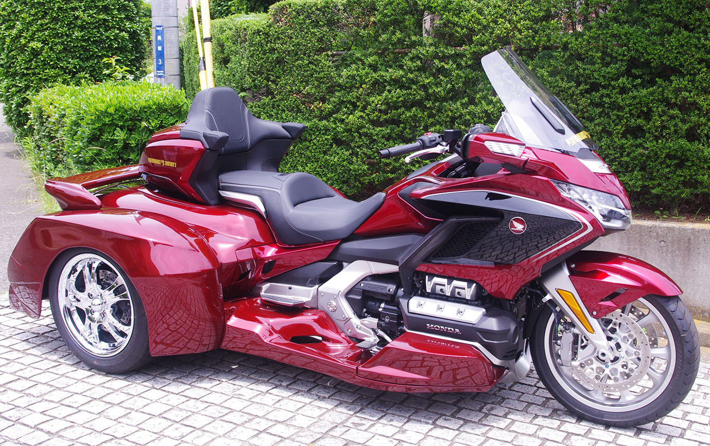 GOLDWING GL1800 SC79 HANNIGAN TRIKE